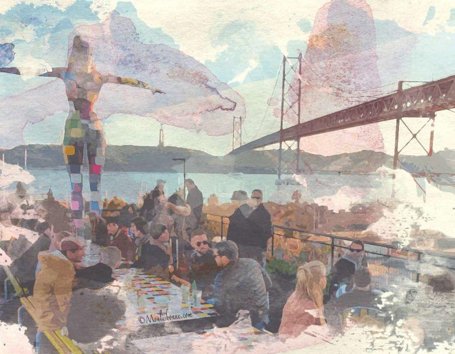 rio maravilha à Lx factory à Lisbonne, un rooftop tendance pour des soirées et dîner d'entreprise pendant un seminaire et team building à lisbonne