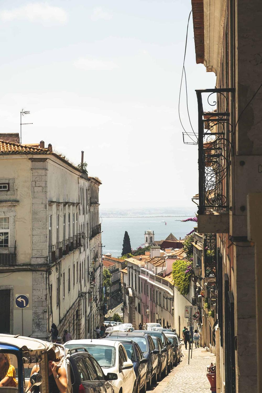 Stationnement compliqué à Lisbonne, pour se stationner facilement et pas cher c'est par parclick