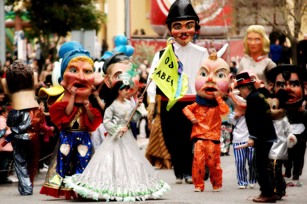 Parade au carnaval de Loures. © carnaval de Loures