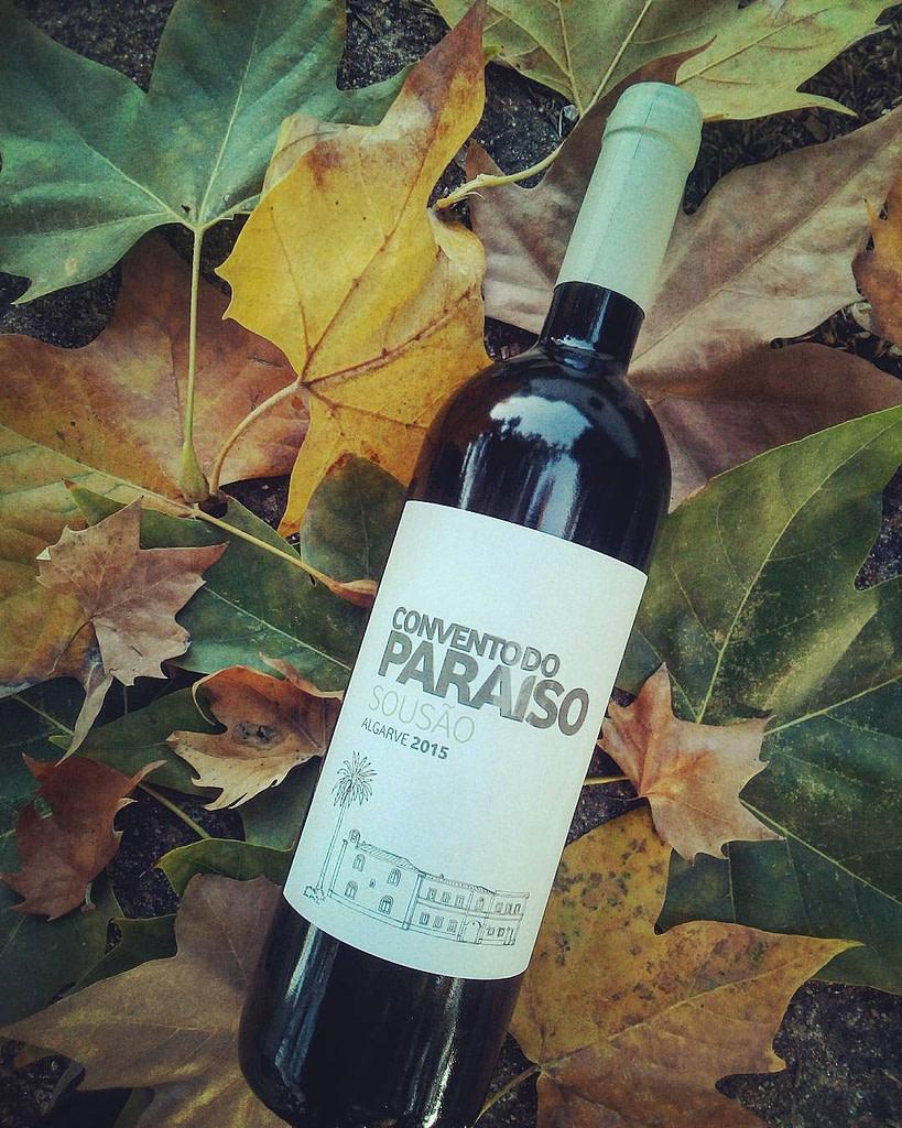 Guide des vins portugais avec le vin d'Algarve produit par Convento do Paraiso