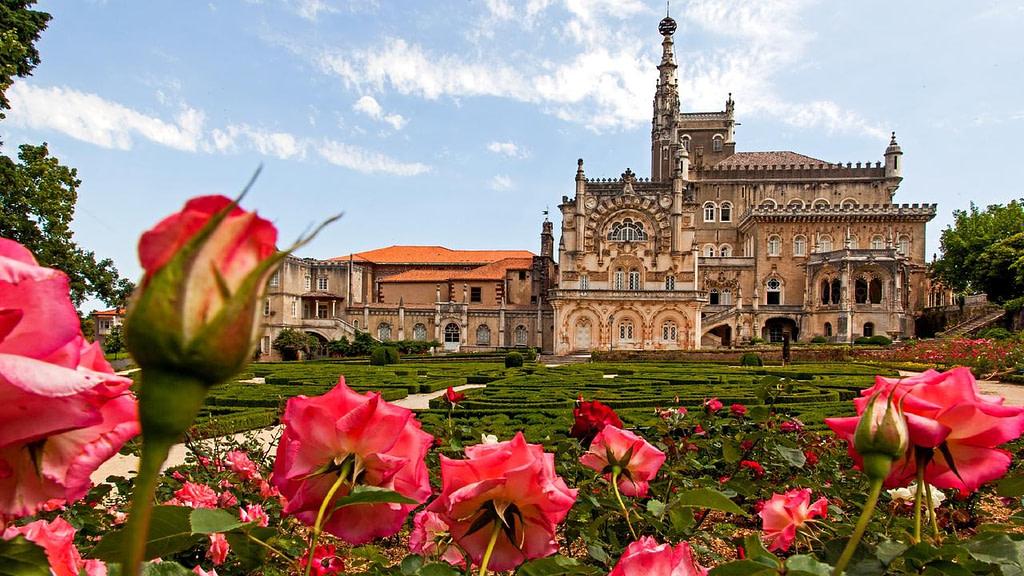 Palais de Buçaco, un palais au coeur de la région viticole de Bairrada