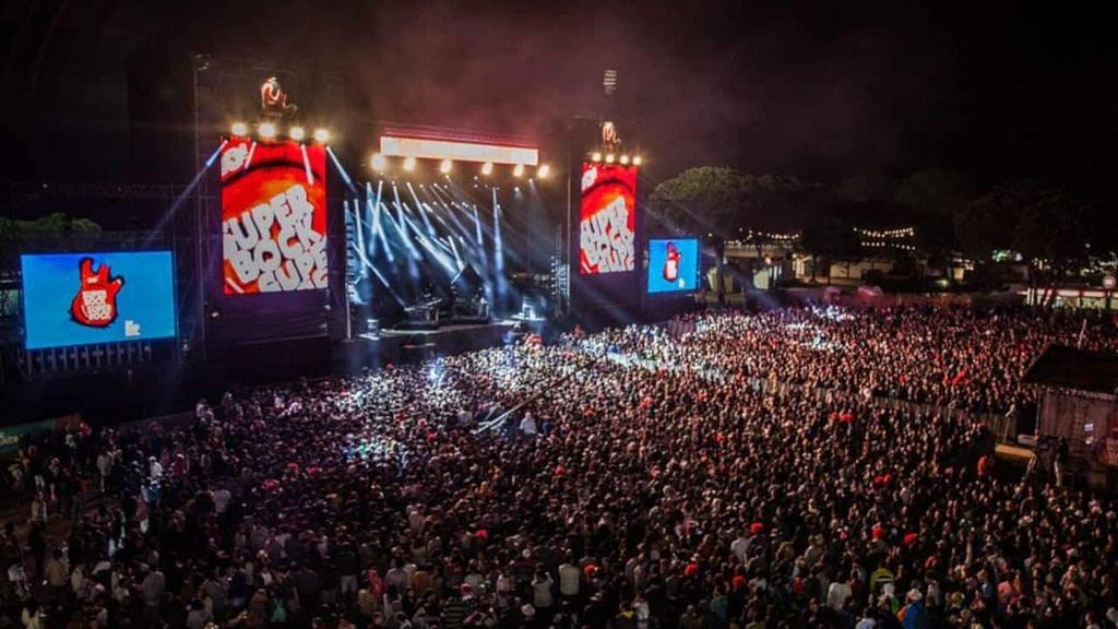 Festival À lisbonne Superbock Super rock