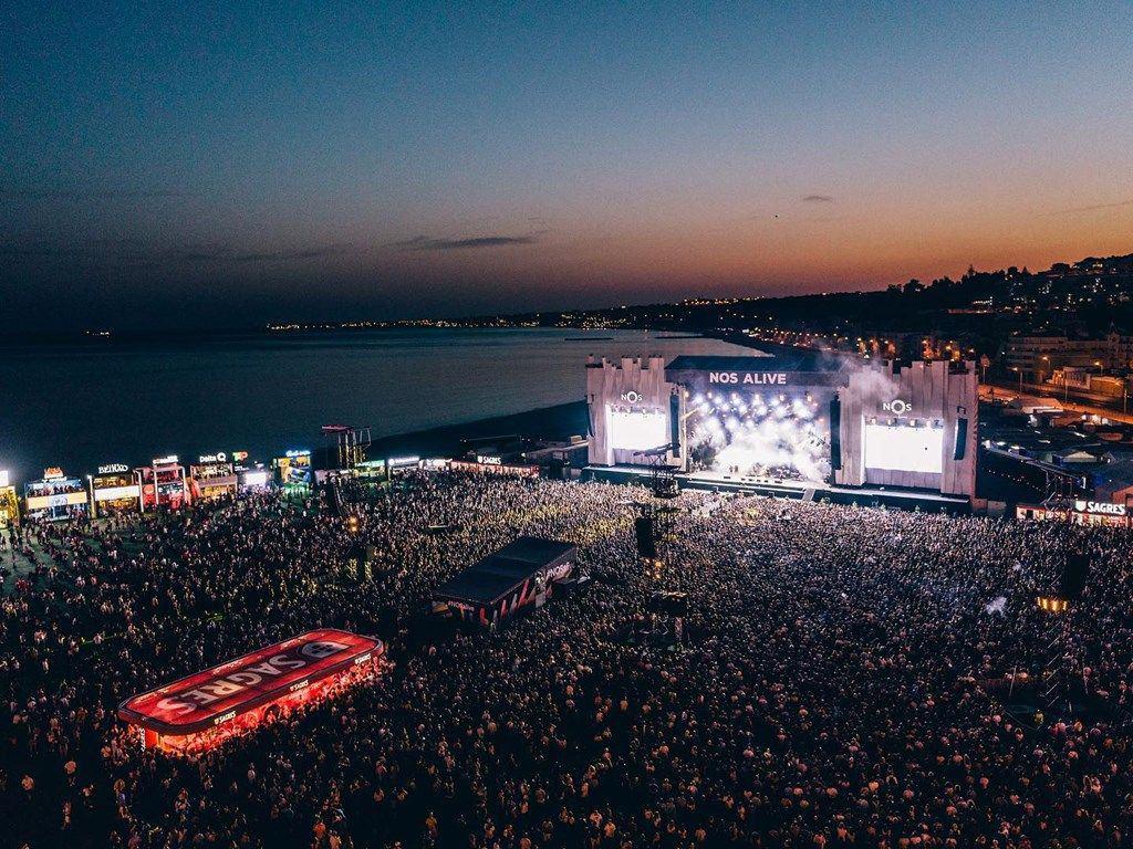 Nos Alive festival à Lisbonne