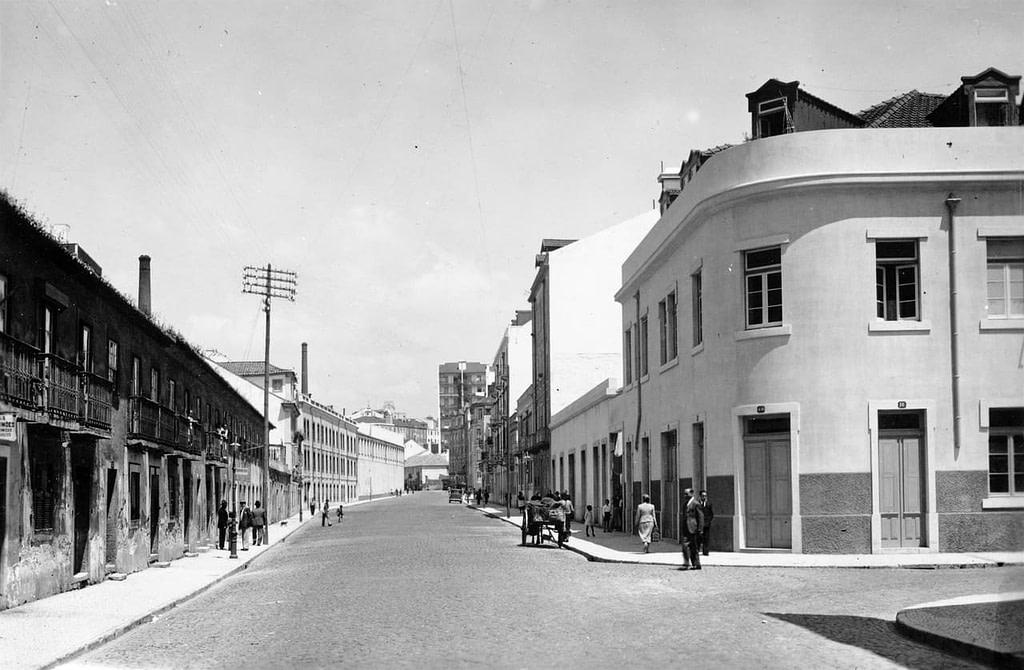 Antique rue de Arroios où Diogo Alves et son gang se sont réfugiés