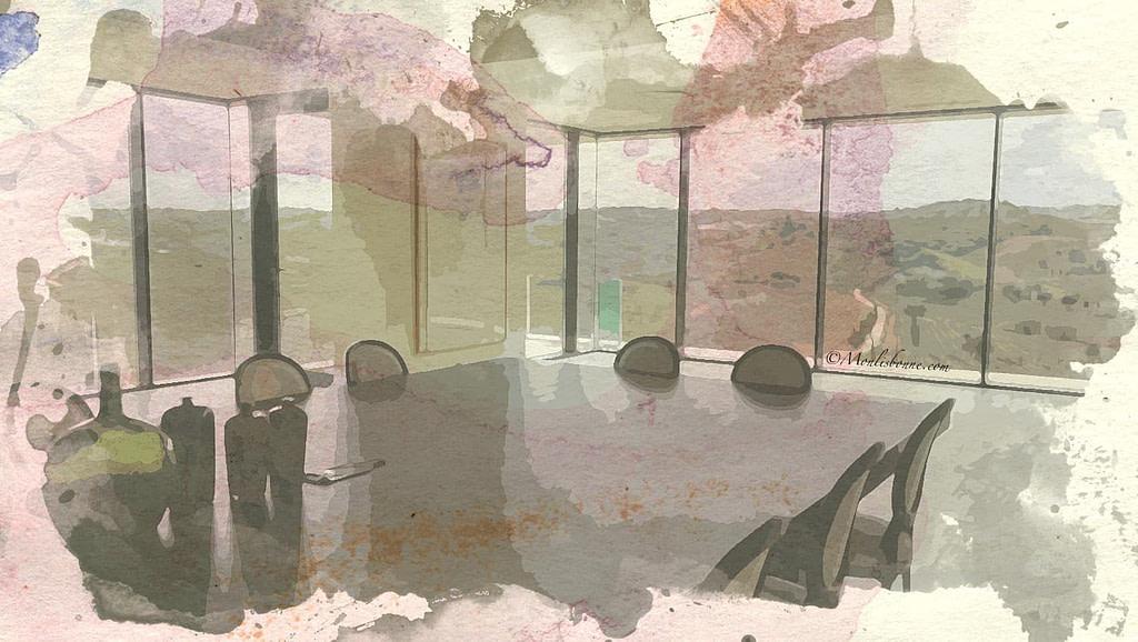 Salle de réunion dans un vignoble de Lisbonne pour séminaire corporate