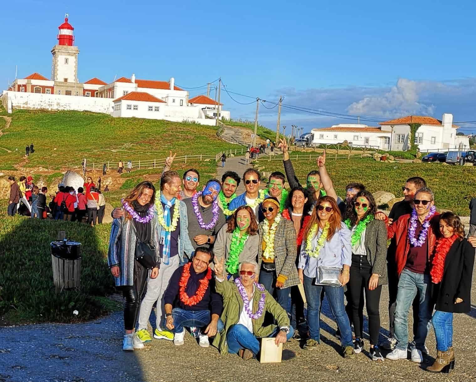 Team building pendant un séminaire à Lisbonne avec activités, organisation complète de l'évènement entreprise