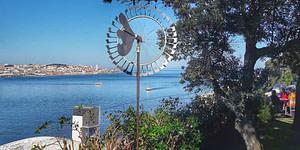 Vue sur Lisbonne depuis l'autre côté du Tage, sans doute les plus belles vues que l'on puisse avoir sur Lisbonne