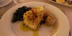 Plat typique portugais au restaurant Laurentina où on mange la meilleure morue de Lisbonne