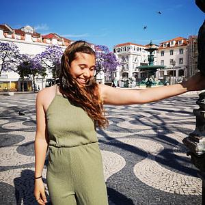 Catarina, guide francophone à Lisbonne au Portugal