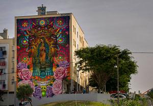 Cix Mugre, street artiste dans le quartier de Marvila à Lisbonne