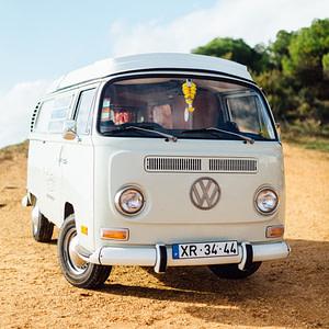 Road trip au Portugal avec un van combi VW