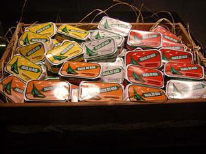 Conserve de sardines, sardines en boite, la meilleure adresse pour en acheter à Lisbonne c'est conserveira de Lisboa