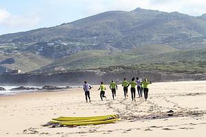 Cours de surf à Lisbonne sur la plage de Guincho