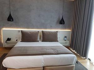 Chambre double twin d'un hôtel 4 étoiles pour séminaire d'entreprise ou team building à Lisbonne