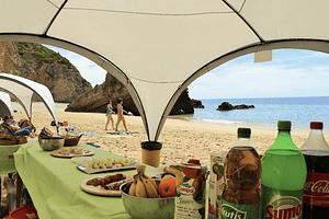 Journée sur une plage isolée à Serra da Arrabida près de Lisbonne avec activités fun, buffet et beaucoup de plaisir
