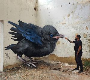 Odeith, artiste de street art à Lisbonne