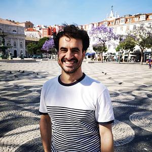 Pedro, guide francophone à Lisbonne au Portugal