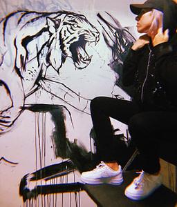 Tamara Alves, artiste de street art à Lisbonne