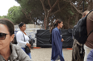 Gang de pickpockets en action dans Lisbonne à Graça, quartier moins touristique. Il faut rester vigilant