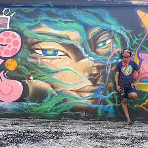 Utopia, artiste de street art à Lisbonne