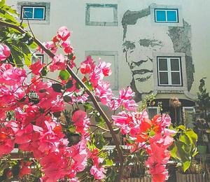 Vhils est un artiste portugais de Lisbonne célèbre pour ses oeuvres creusées dans les murs