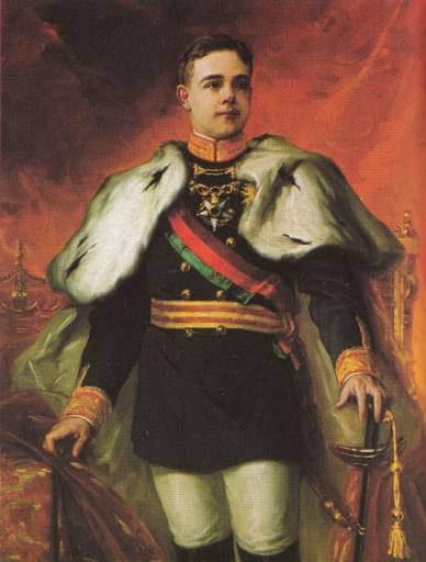 Roi du Portugal Manuel II