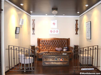 un lieux cosi, Augusto café