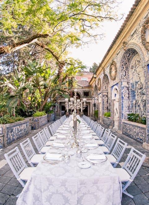 Mariage, anniversaire, déjeuner ou dîner corporate à Lisbonne avec les meilleurs traiteurs.