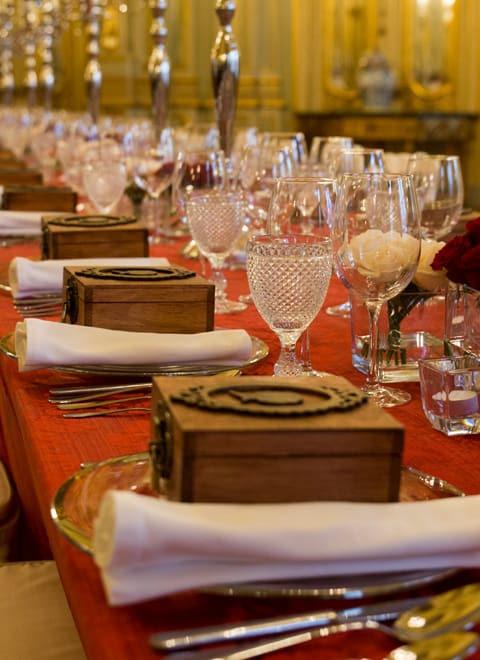 Le meilleur service de traiteur à Lisbonne pour soirée de gala, dîner corporate, anniversaire, mariage