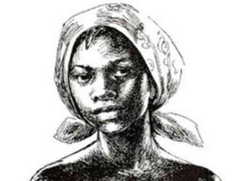 Jeune africaine vivant dans le Lisbonne du XVIIIe siècle