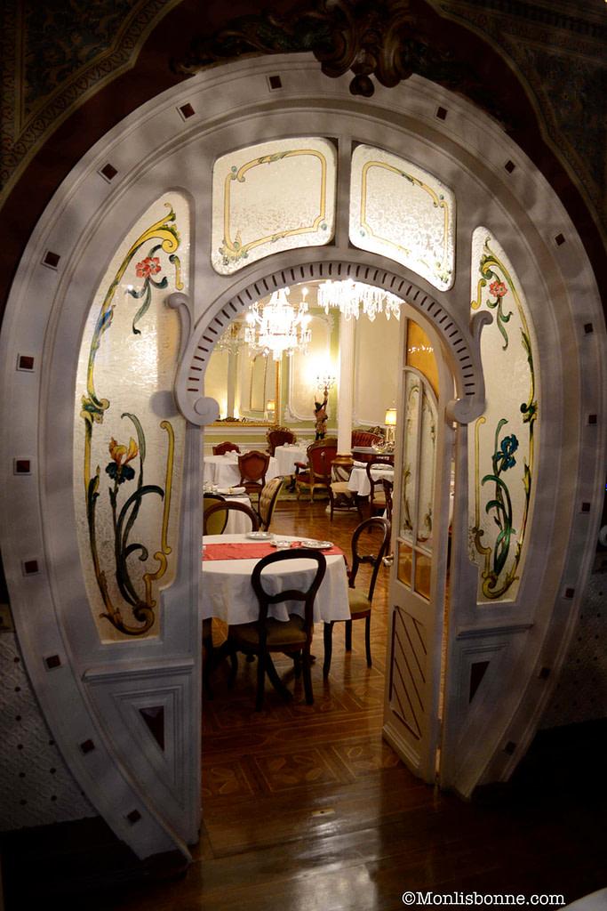 les salles du palacete Chafariz del Rey
