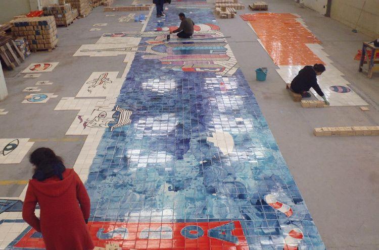 Viuva Lamego, la fabrique de luxe d'azulejos à Lisbonne
