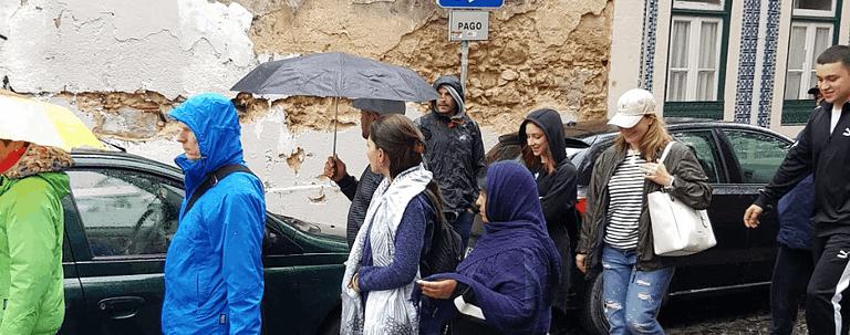 Les pickpockets de Lisbonne se mêlent dans la masse et prétendent être des touristes