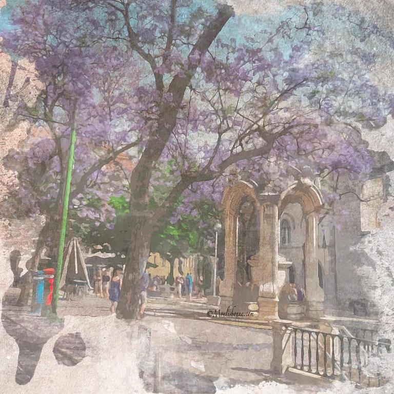 Visite à pied privée de Lisbonne en Français hors des sentiers battus à Largo do Carmo