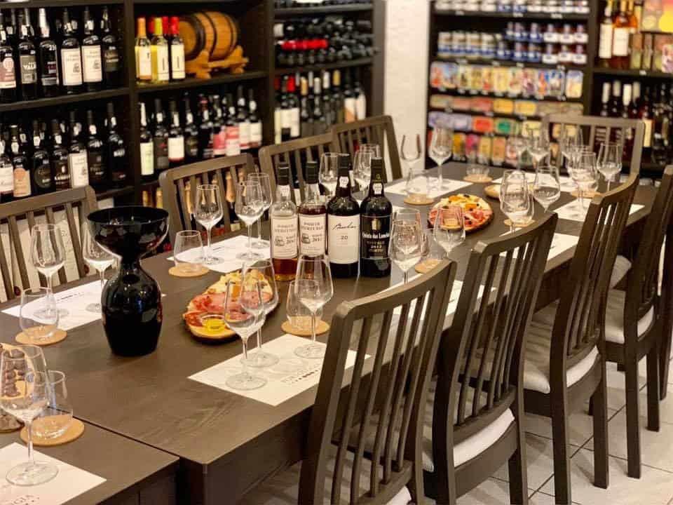 degustation de vins de portos à Lisbonne