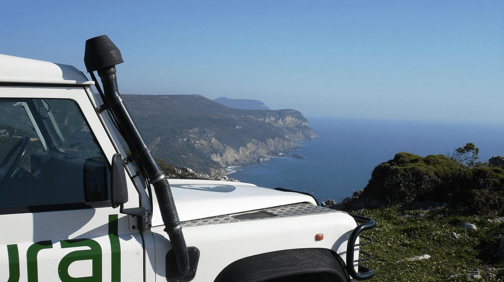 Excursion à Arrábida en 4x4