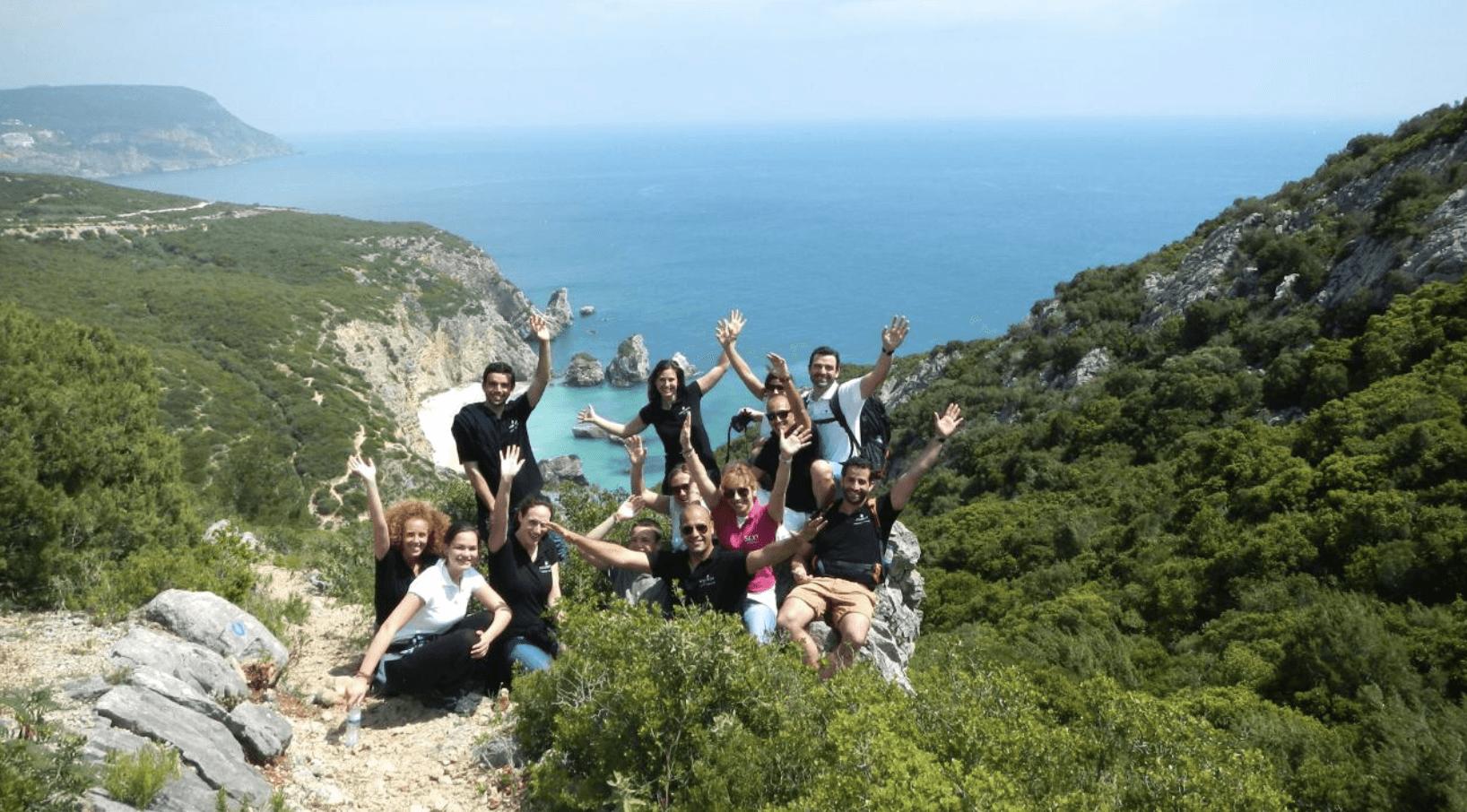 Randonnée dans le parc naturel d'Arrábida
