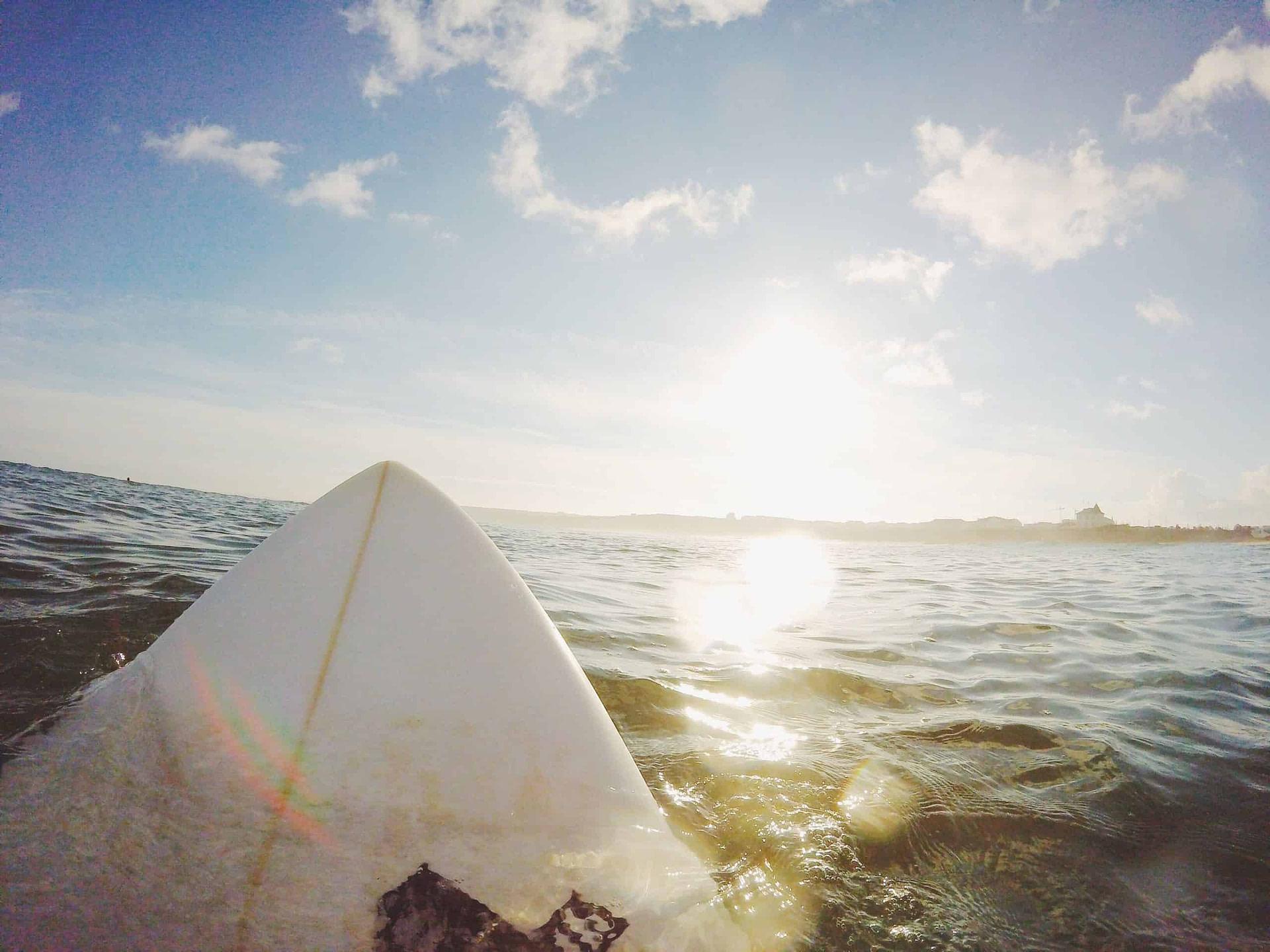 Excursion surf sur Caparica, Carcavelos ou Guincho.