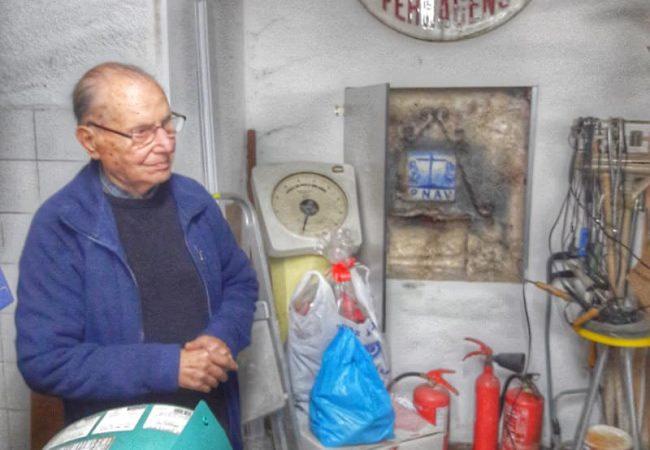 Magasin de balances historiques chez Fernando da Mouraria