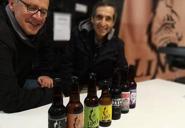 Les bières Lince sont brassées dans le quartier de Marvila à Lisbonne et supportent le programme de protection du lynx ibérique