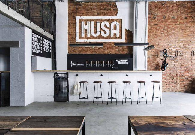 Brasserie portugaise Musa située à Marvila à Lisbonne