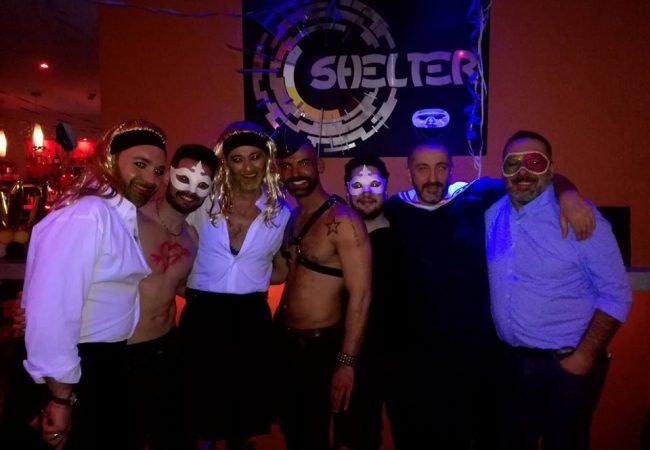 Comme Tr3s, Shelter est un bar gay de Lisbonne qui s'adresse principalement à la communauté