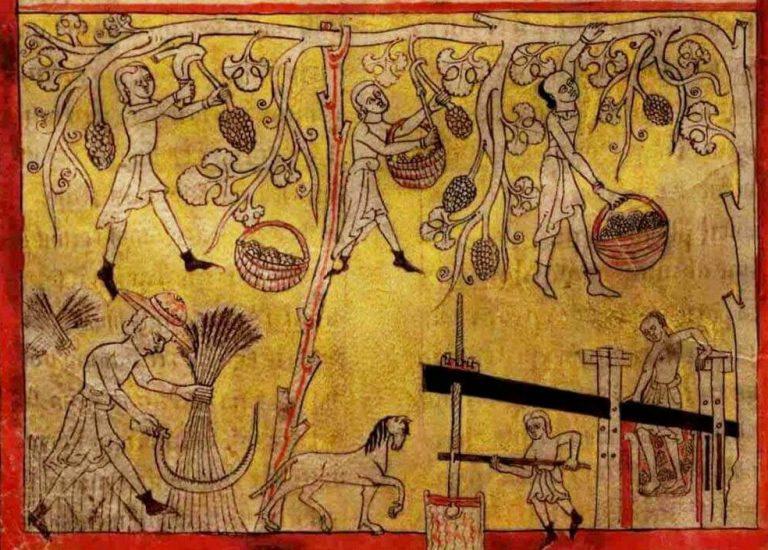 Histoire des vins du Portugal et du vinho verde à travers les gravures historiques de Lorvao