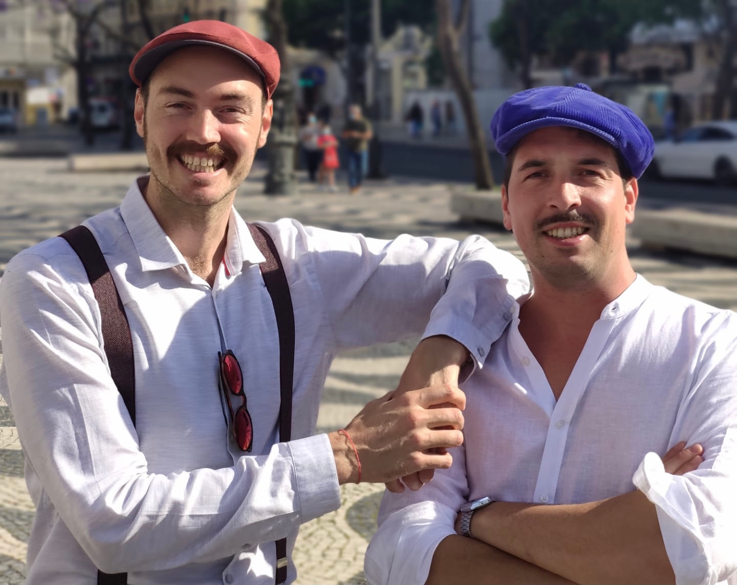 Elliot and Sylvain, the duo who have been running the company VisitmyLisbon.com for over 5 years